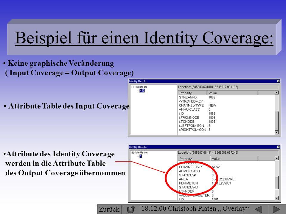Beispiel für einen Identity Coverage: