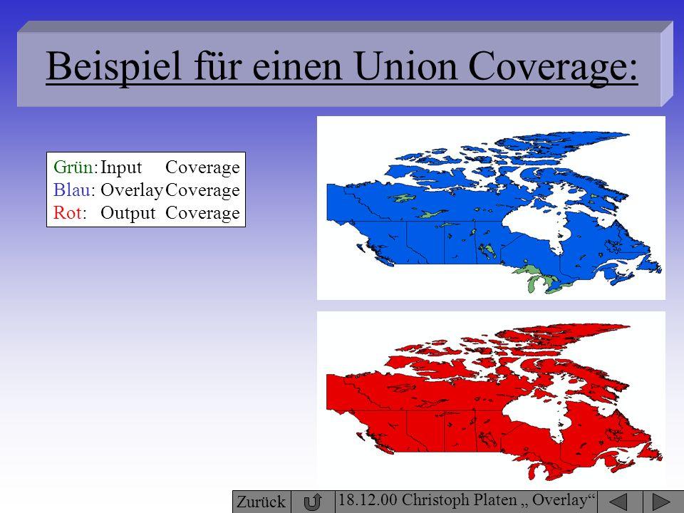 Beispiel für einen Union Coverage: