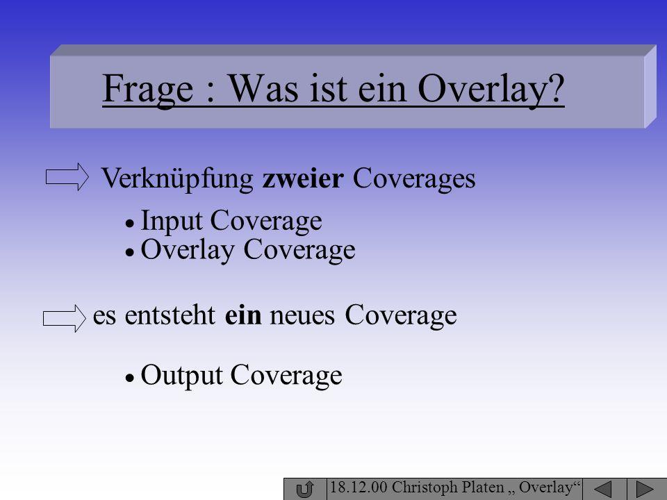 Frage : Was ist ein Overlay