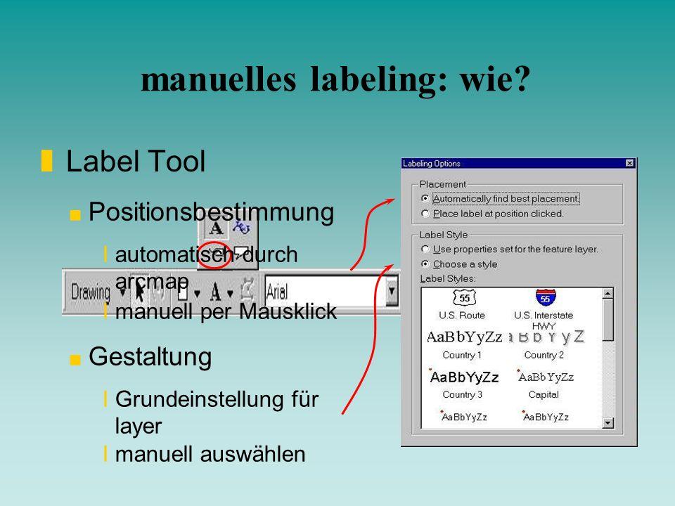 manuelles labeling: wie