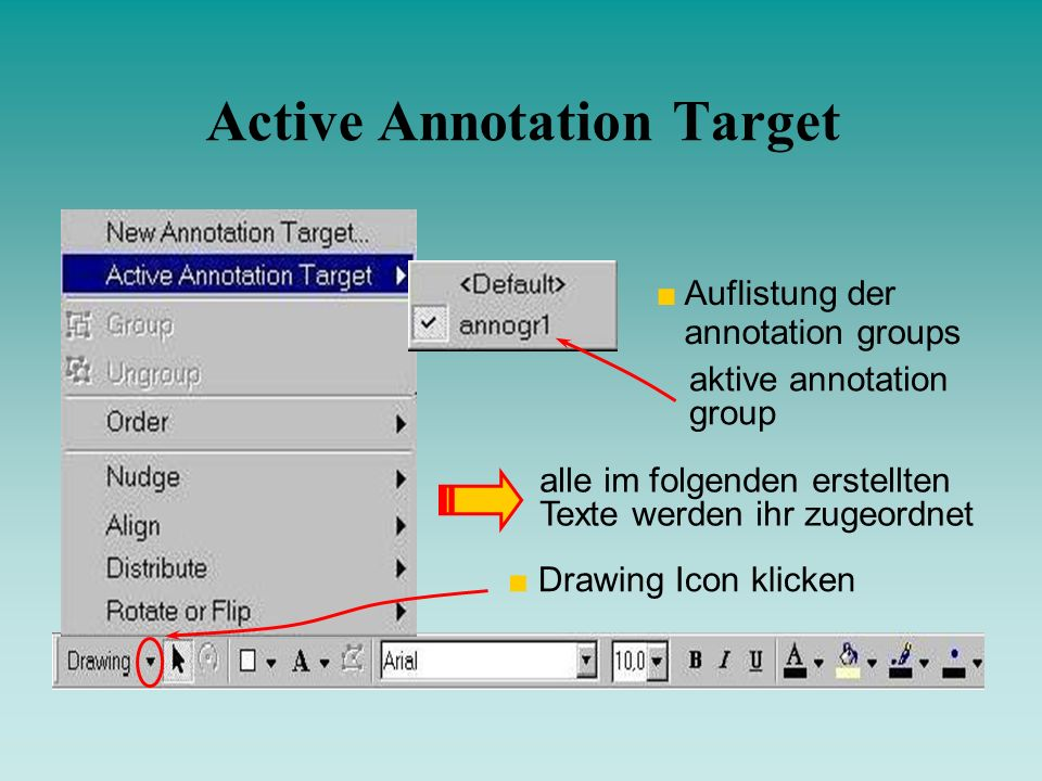 Active Annotation Target