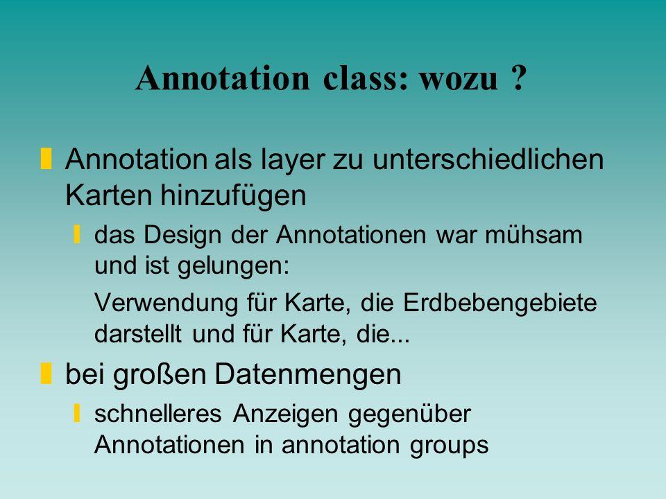 Annotation class: wozu
