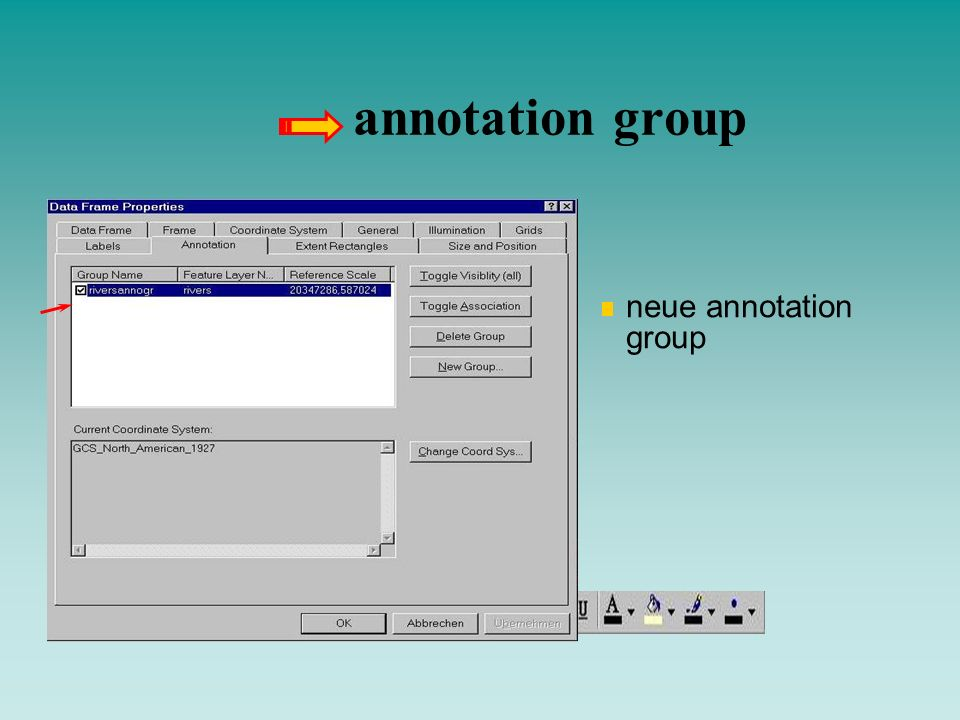 annotation group neue annotation group