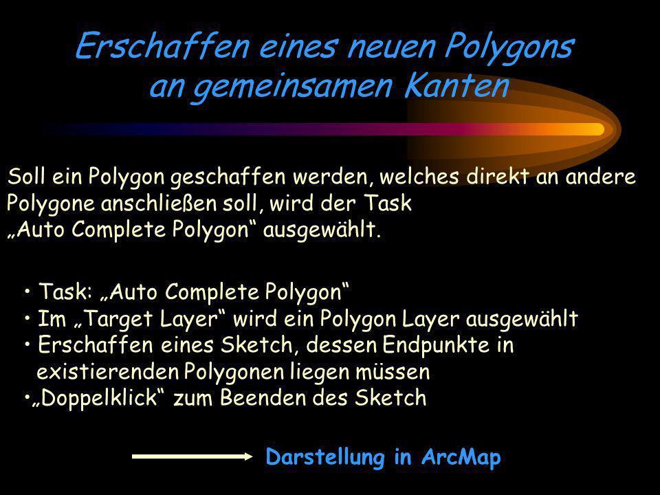 Erschaffen eines neuen Polygons