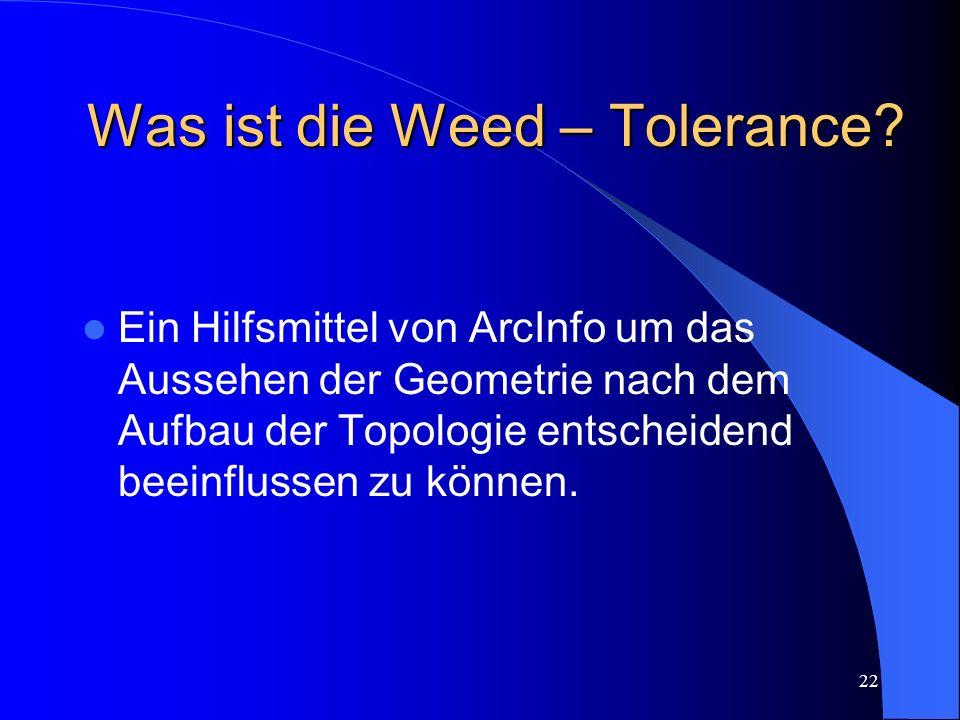 Was ist die Weed – Tolerance