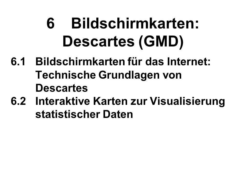 6 Bildschirmkarten: Descartes (GMD)