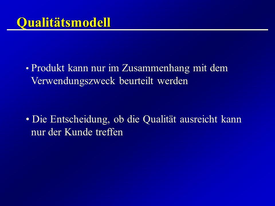 Qualitätsmodell Verwendungszweck beurteilt werden