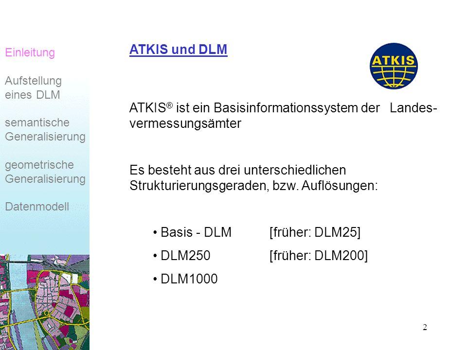 ATKIS® ist ein Basisinformationssystem der Landes- vermessungsämter