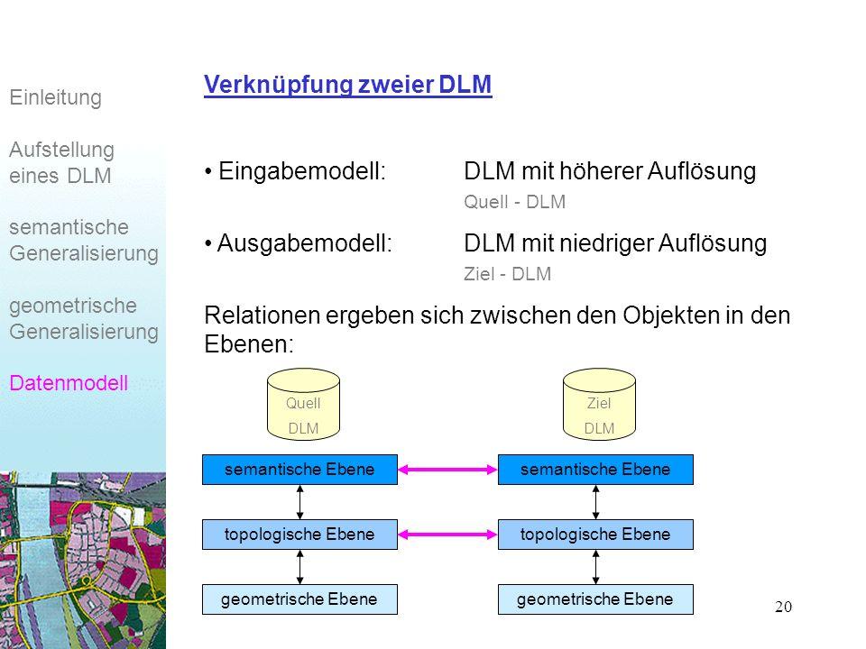 Verknüpfung zweier DLM