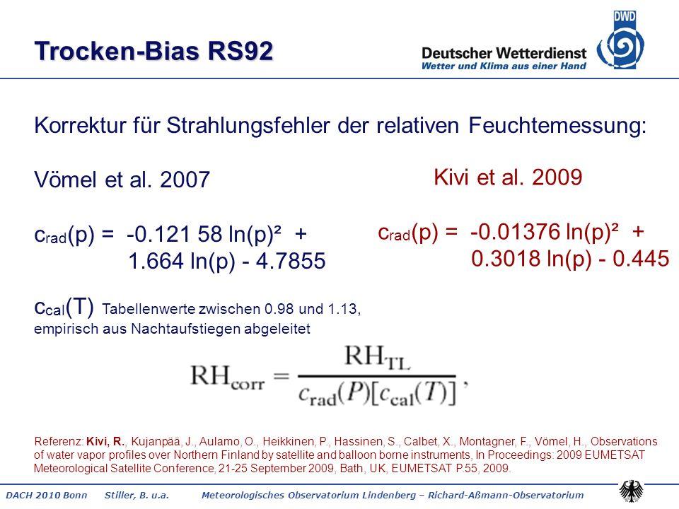 Trocken-Bias RS92