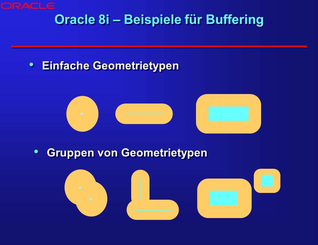 Oracle 8i – Beispiele für Buffering