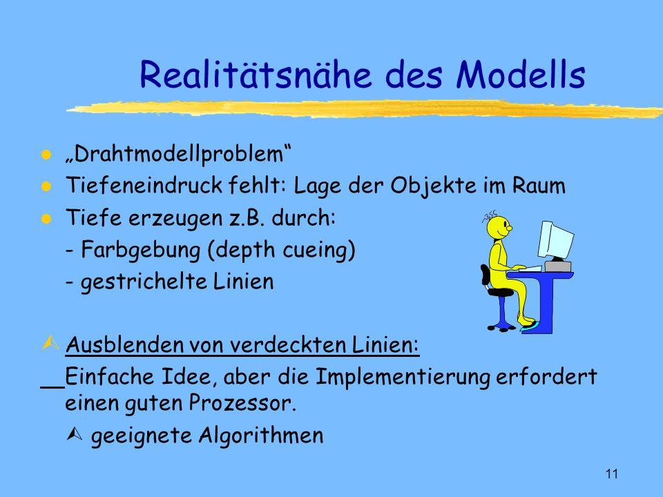 Realitätsnähe des Modells