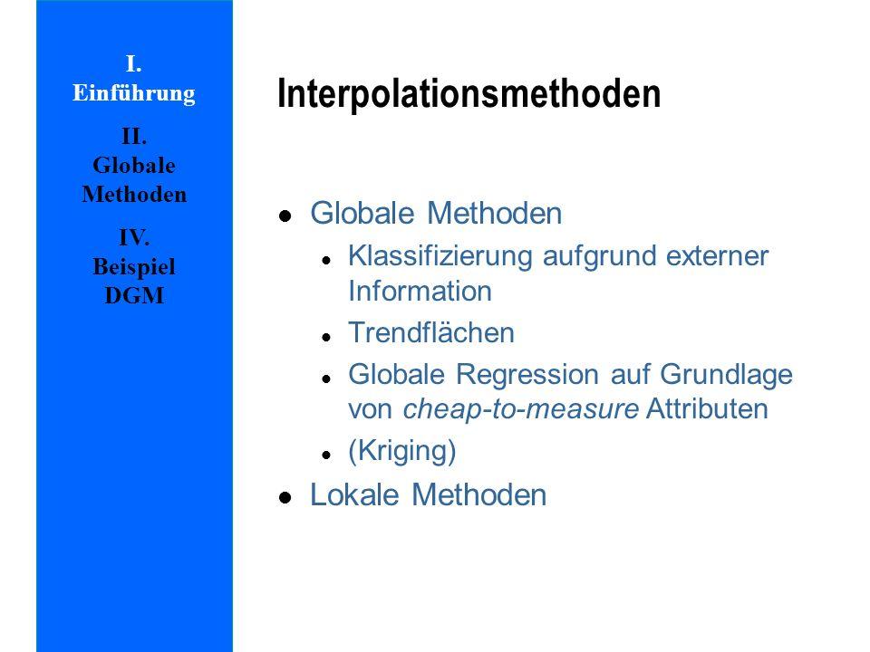 Interpolationsmethoden