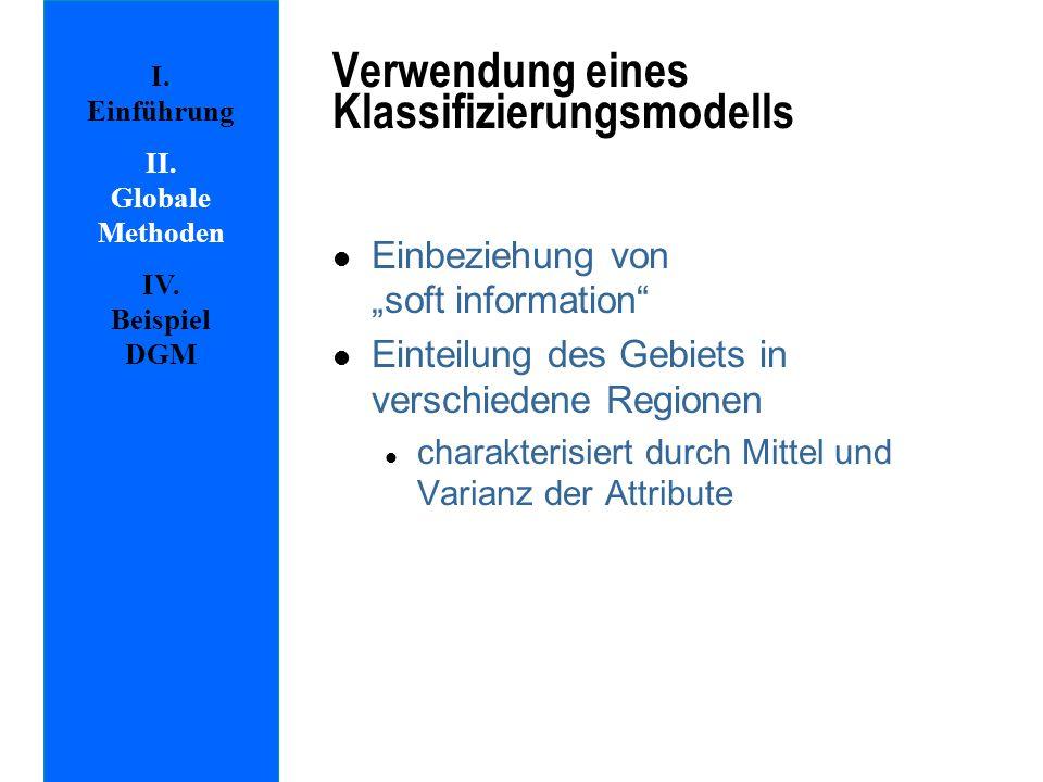 Verwendung eines Klassifizierungsmodells