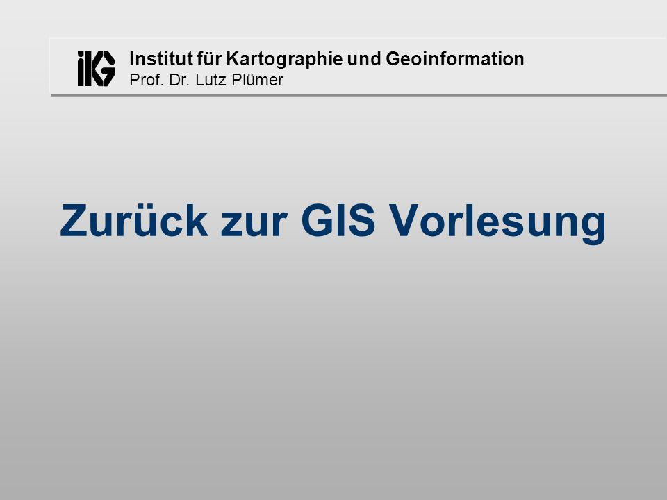 Zurück zur GIS Vorlesung