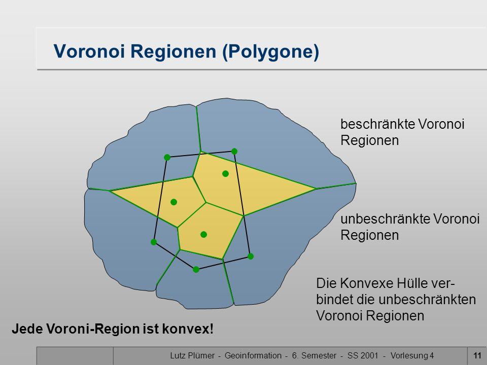 Voronoi Regionen (Polygone)