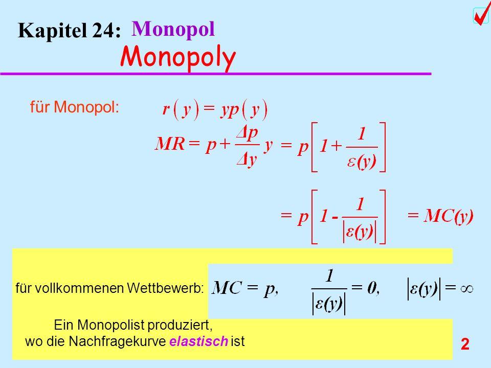 Monopoly Kapitel 24: Monopol für Monopol: Chnage order