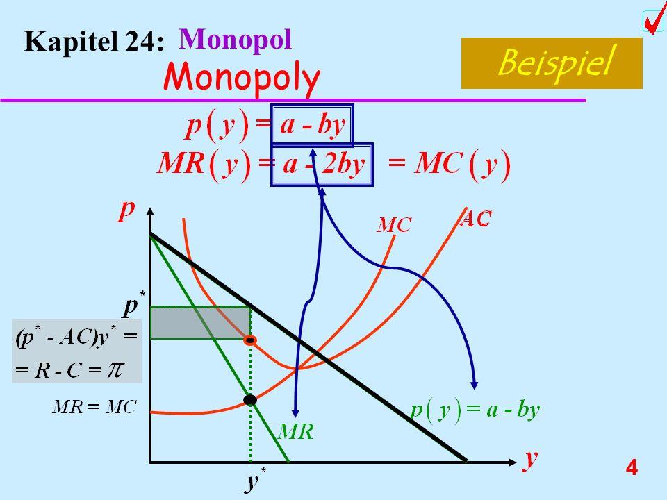 Beispiel Monopoly Kapitel 24: Monopol Chnage order