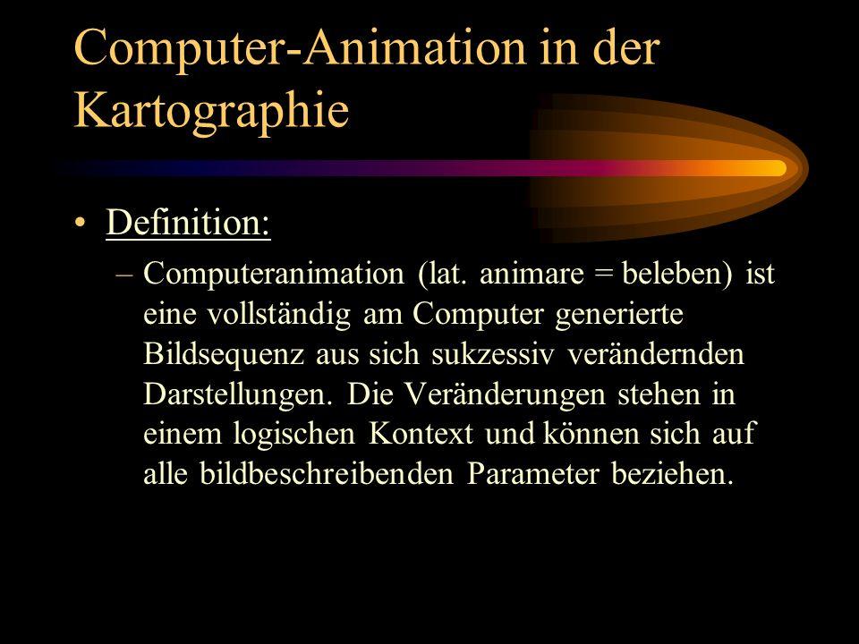 Computer-Animation in der Kartographie
