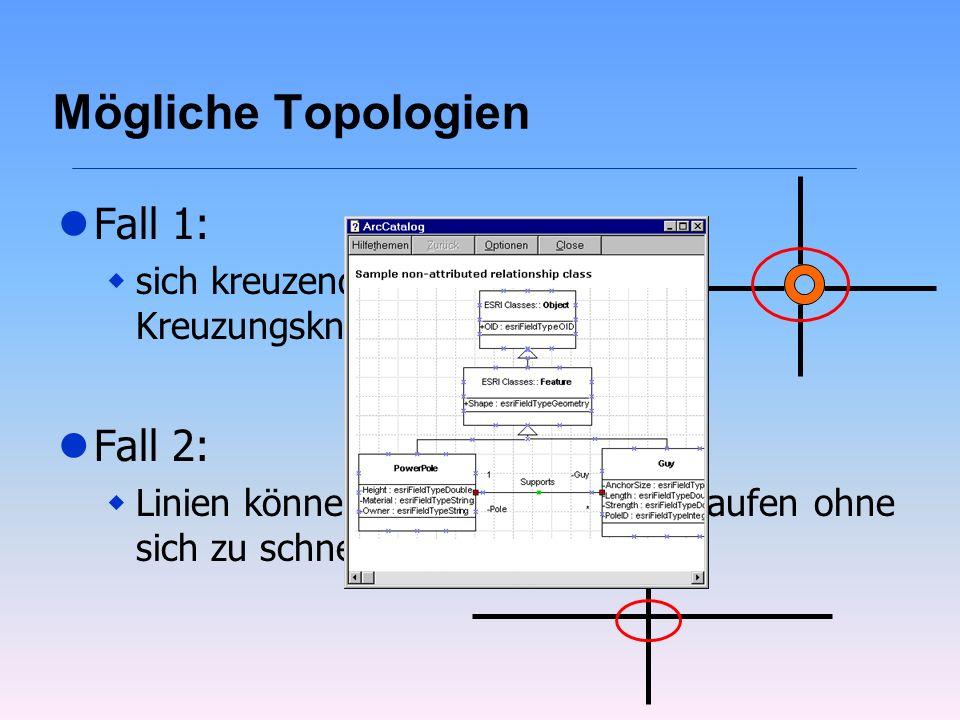 Mögliche Topologien Fall 1: Fall 2: