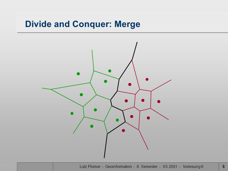 Divide and Conquer: Merge