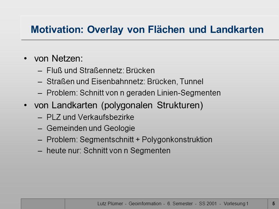 Motivation: Overlay von Flächen und Landkarten