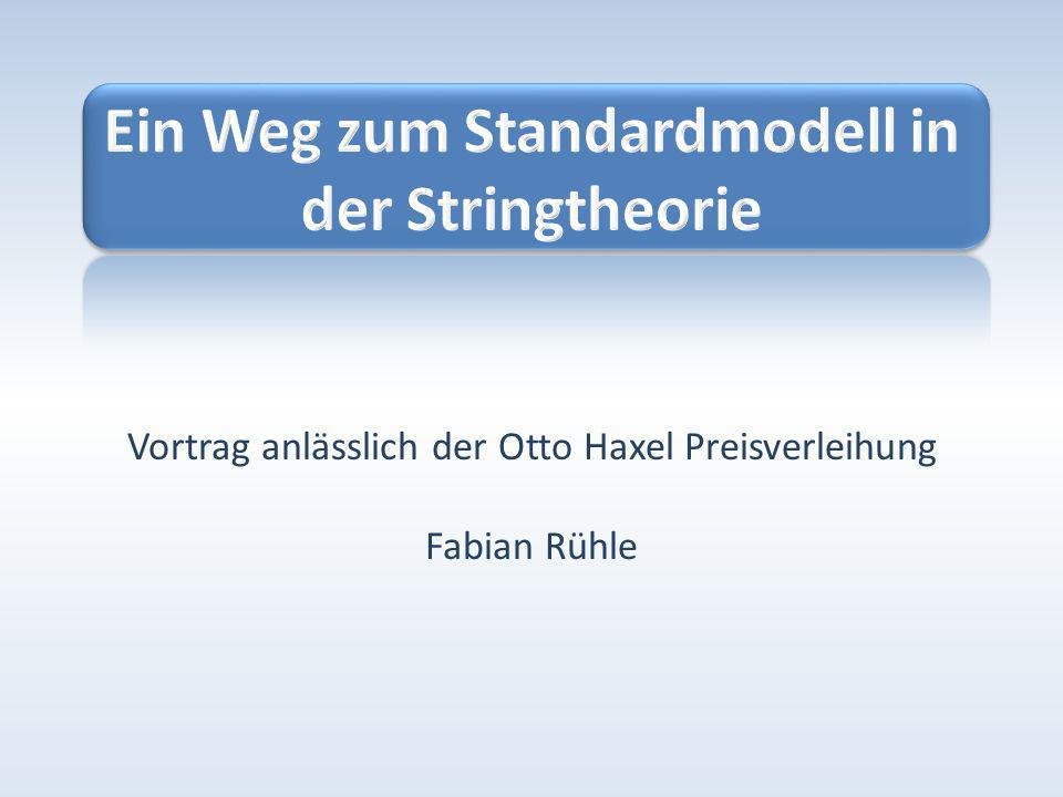 Ein Weg zum Standardmodell in der Stringtheorie
