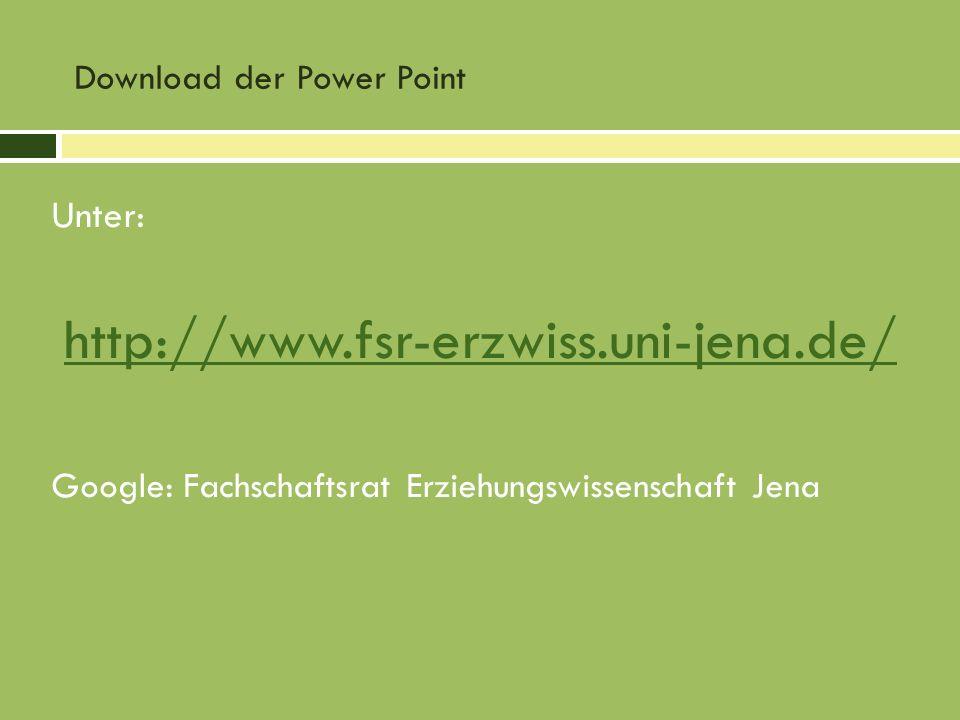 Download der Power Point