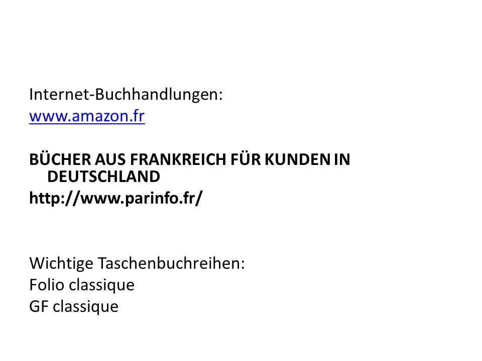 Internet-Buchhandlungen:
