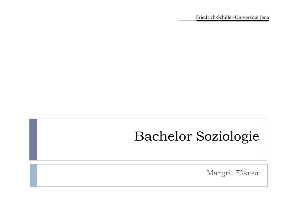 Bachelor Soziologie Margrit Elsner