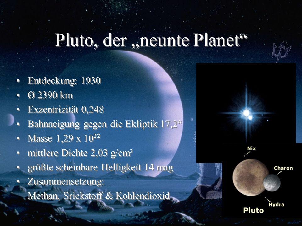 "Pluto, der ""neunte Planet"