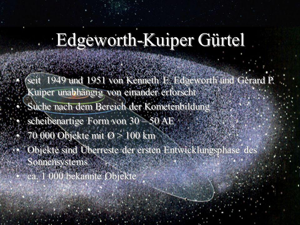 Edgeworth-Kuiper Gürtel