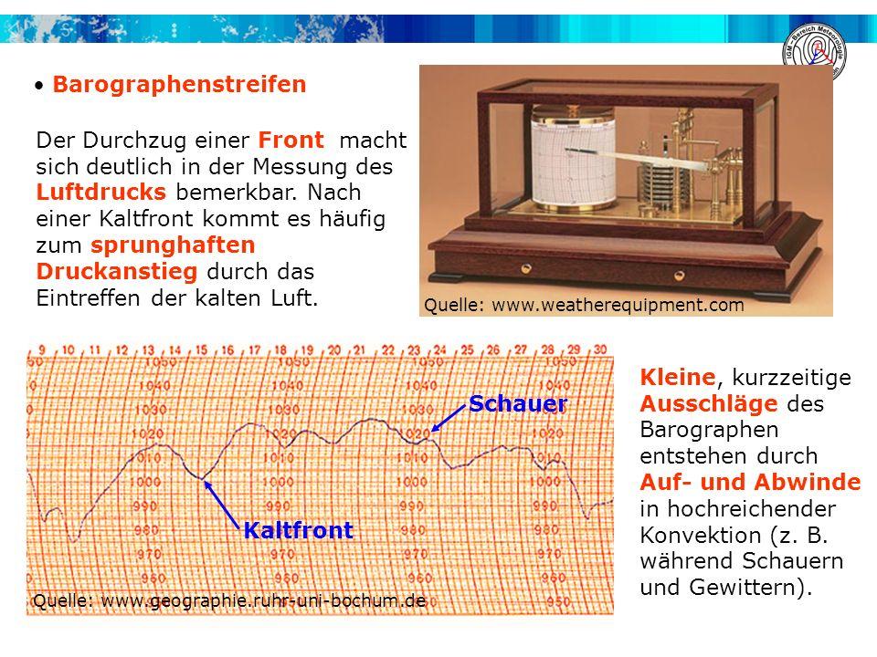 Barographenstreifen Quelle: www.weatherequipment.com.
