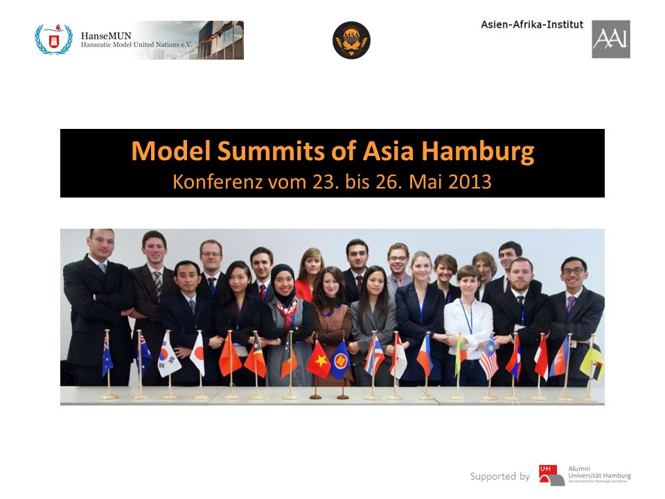 Model Summits of Asia Hamburg
