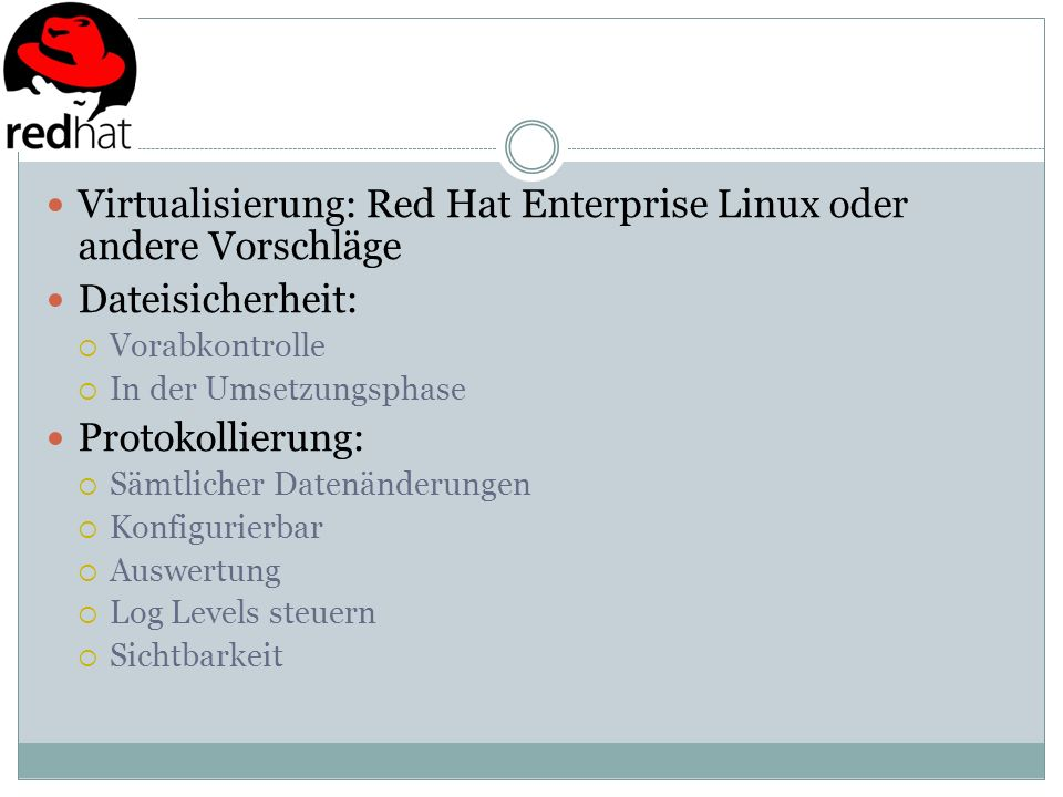 Virtualisierung: Red Hat Enterprise Linux oder andere Vorschläge