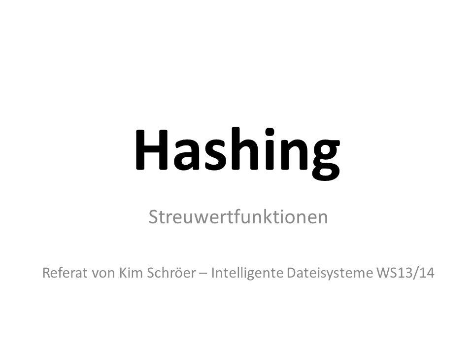 Referat von Kim Schröer – Intelligente Dateisysteme WS13/14