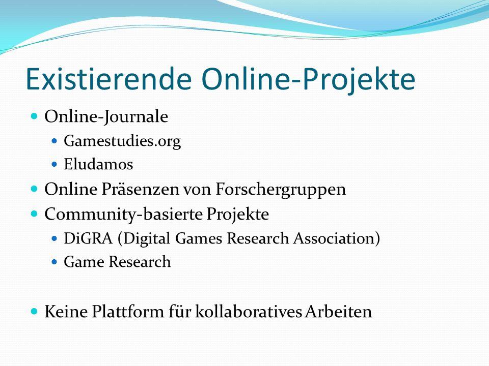 Existierende Online-Projekte