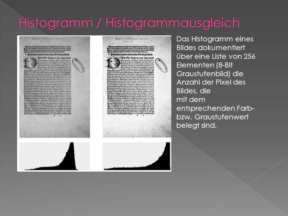 Histogramm / Histogrammausgleich