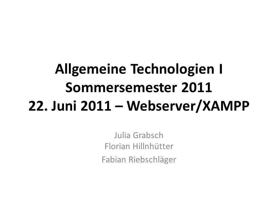 Julia Grabsch Florian Hillnhütter Fabian Riebschläger