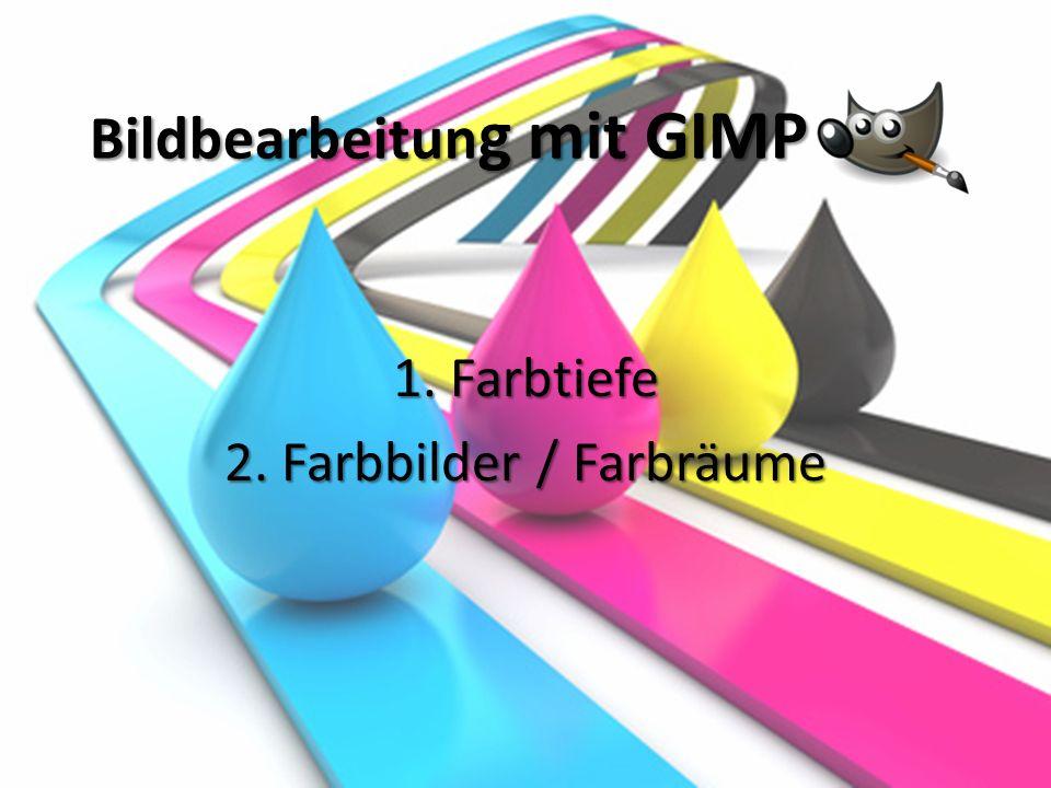 Bildbearbeitung mit GIMP