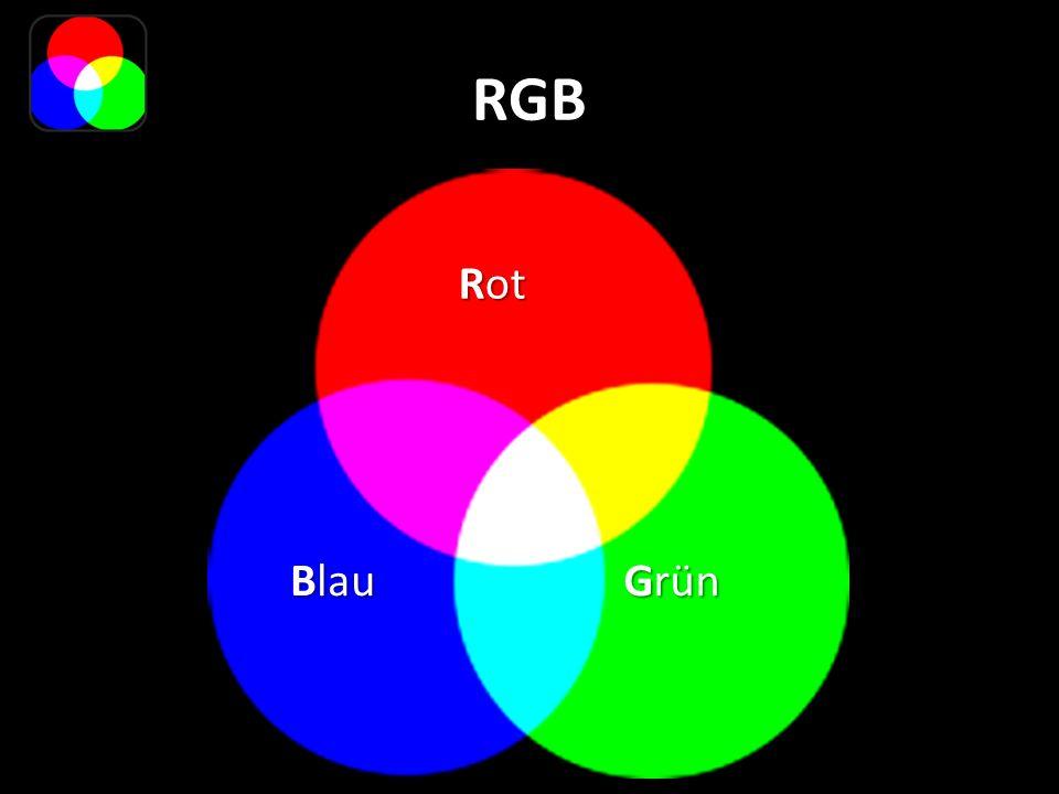 RGB Rot Blau Grün