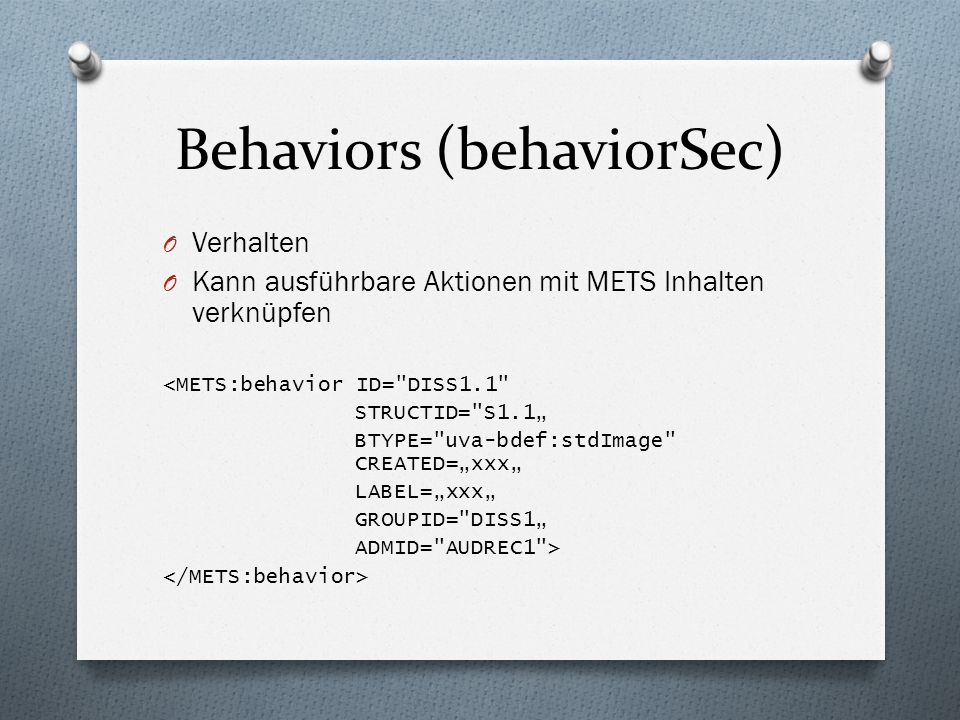 Behaviors (behaviorSec)
