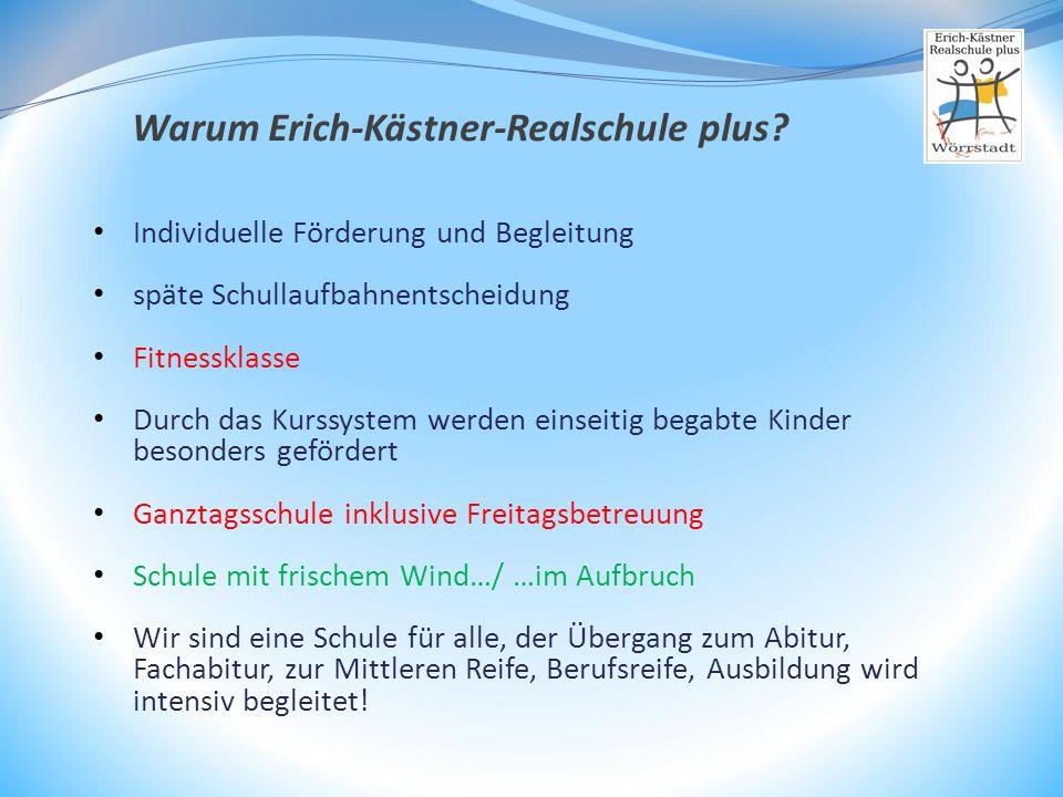 Warum Erich-Kästner-Realschule plus