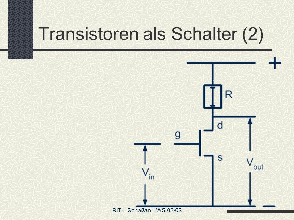 Transistoren als Schalter (2)