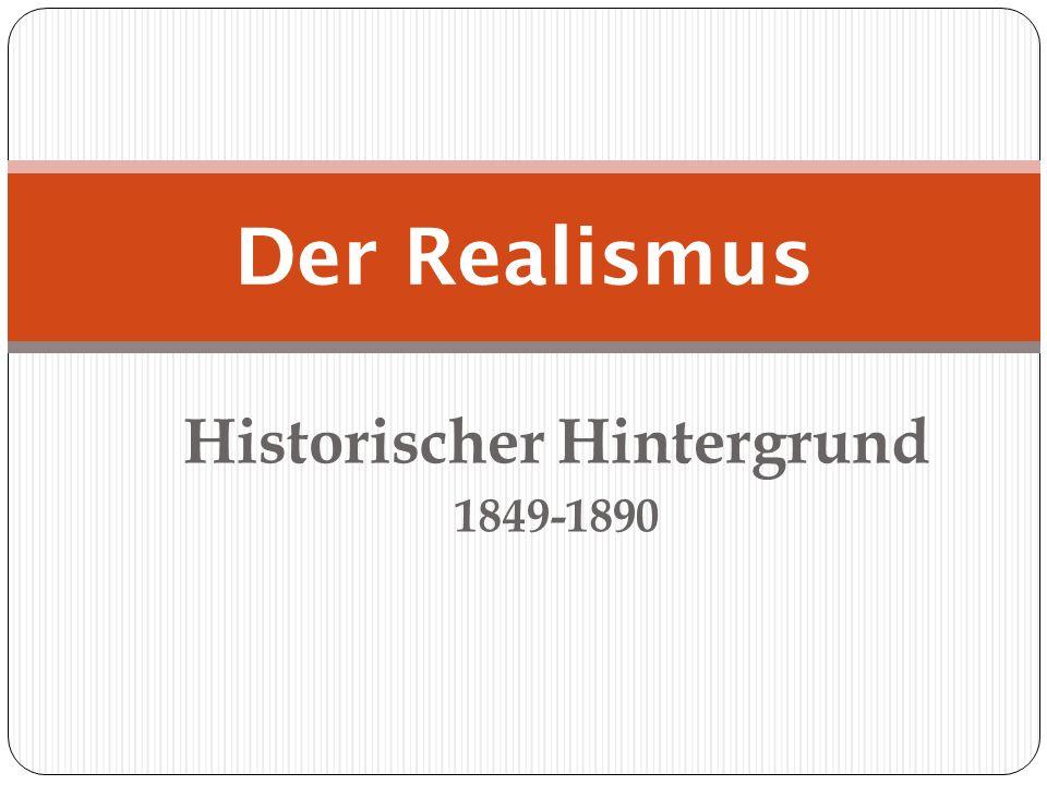 Historischer Hintergrund 1849-1890