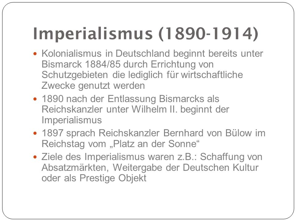 Imperialismus (1890-1914)
