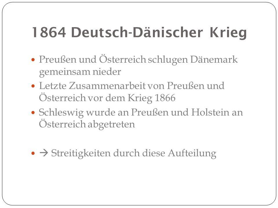 1864 Deutsch-Dänischer Krieg