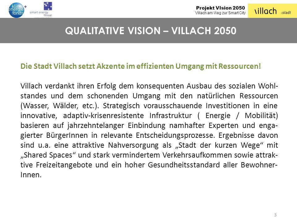 QUALITATIVE VISION – VILLACH 2050