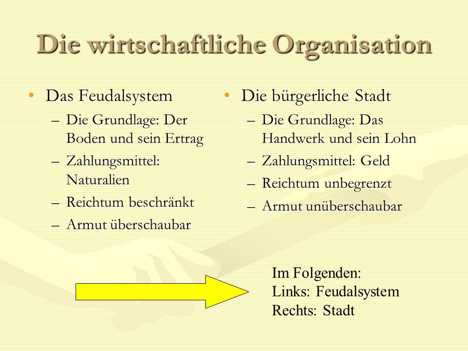 Die wirtschaftliche Organisation