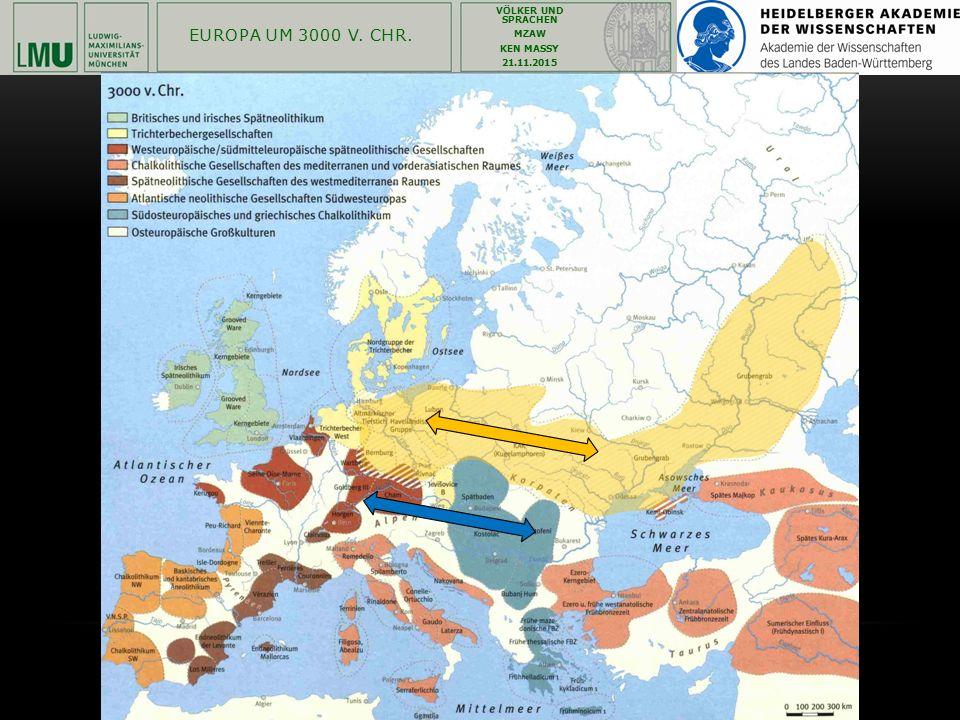 Europa um 3000 v. Chr.